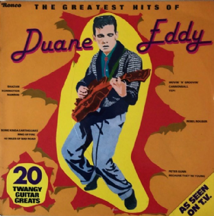 Duane Eddy ‎- The Greatest Hits Of Duane Eddy (LP) (VG-/G++)